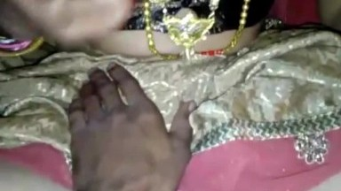 Indian married bhabhi first night fucking with hasband
