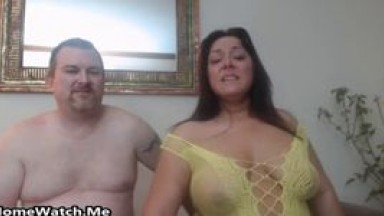 HOME WATCH - Fat And Horny Couple Have Wild Sex On Cam